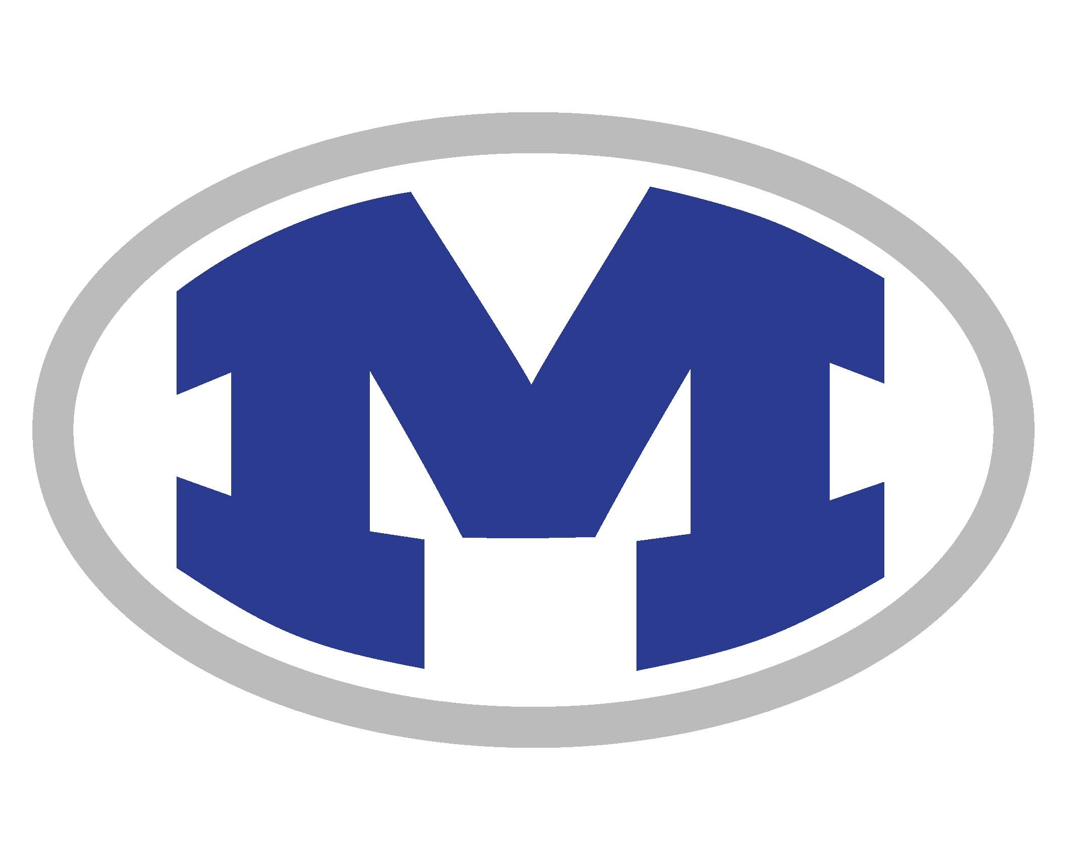 Miamisburg M with grey outline