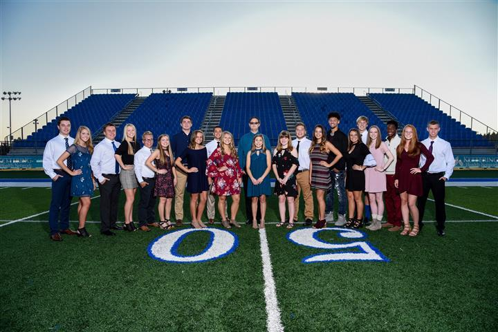 Homecoming Court 2017
