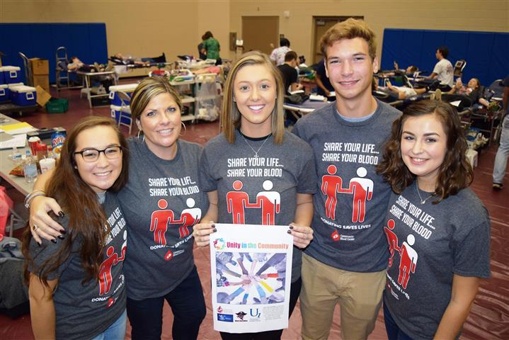 Unity Blood Drive volunteers Small